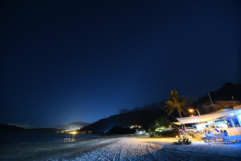 流星雨觀賞地點6. 大嶼山水口灣沙灘