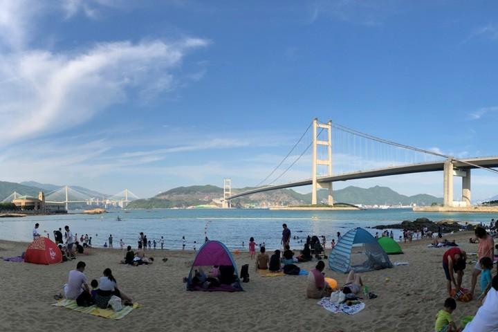 夏日嬉水.马湾古迹游