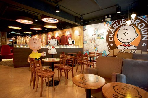 Charlie Brown Cafe 查理布朗咖啡專門店