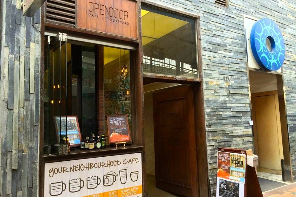 Opendoor Cafe + Courtyard