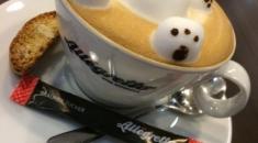 Allegretto Cafe.立體拉花咖啡