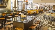 Bread Street Kitchen and Bar.Gordon Ramsay