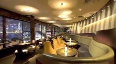 Sky Lounge 視佳廊.180度維港景