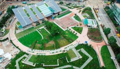 零碳天地.免費休憩綠化區