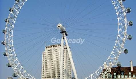 倫敦眼 London Eye.倫敦自由行.第十站