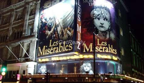倫敦音樂劇.孤星淚 Les Misérables.倫敦自由行.第十二站
