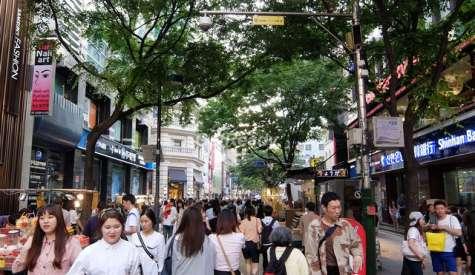 明洞街頭小食.明洞.首爾自由行.第二站
