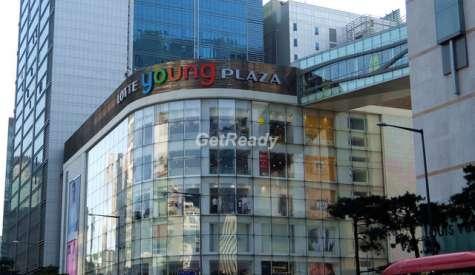 Lotte Young Plaza 樂天百貨.明洞.首爾自由行.第三站
