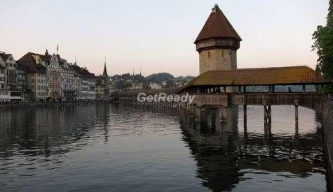 卡貝爾橋.琉森.瑞士自由行.第七站